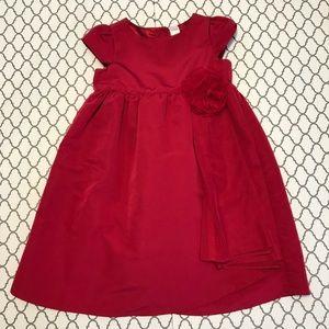 Baby GAP 4t red dress
